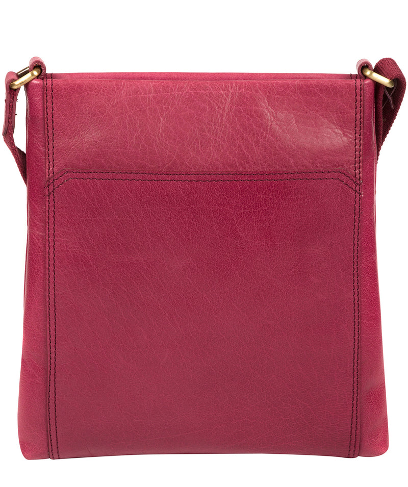 'Dink' Orchid Leather Cross Body Bag image 3