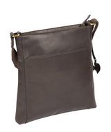 'Dink' Slate Leather Cross Body Bag