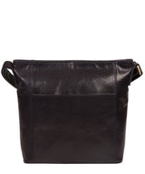 'Robyn' Navy Leather Shoulder Bag image 3