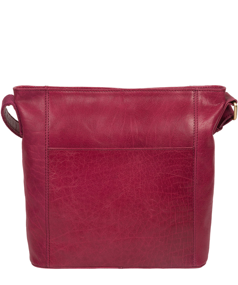 'Robyn' Orchid Leather Shoulder Bag Pure Luxuries London