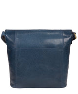 'Robyn' Snorkel Blue Leather Shoulder Bag image 3