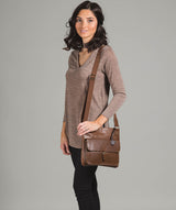'Sudbury' Vintage Chestnut Handcrafted Leather Bag image 2