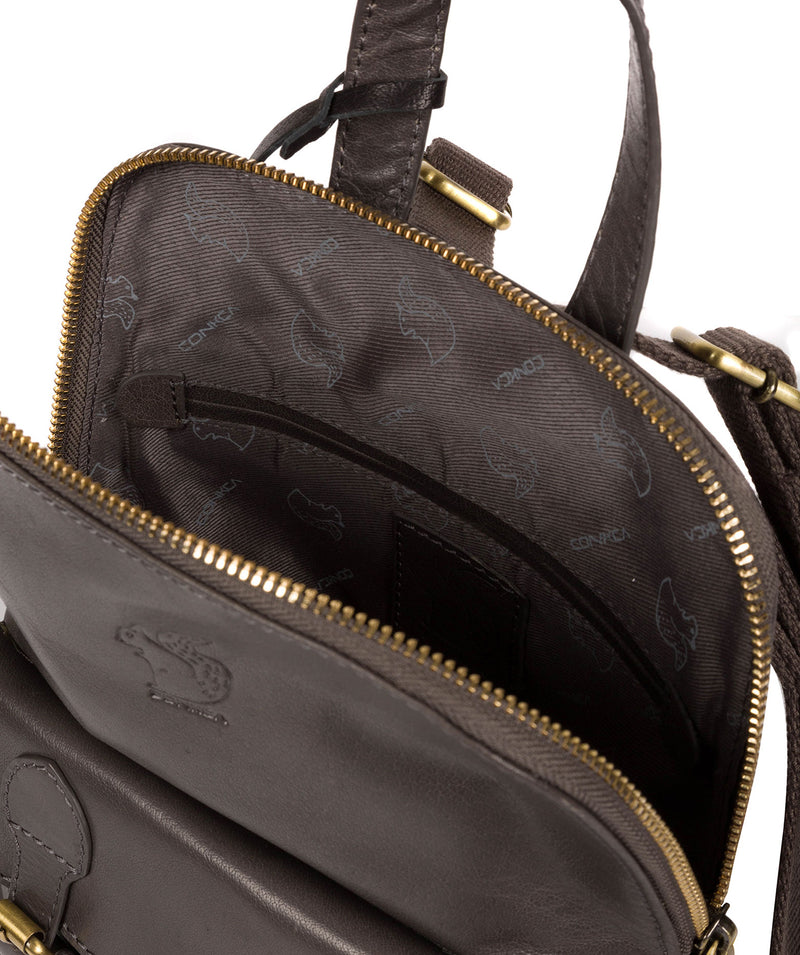 'Kendal' Slate Leather Backpack image 4