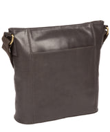 'Vonda' Slate Leather Cross Body Bag image 3