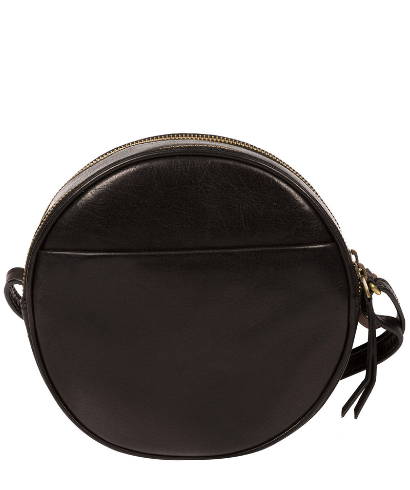 'Rolla' Black Leather Cross Body Bag image 3