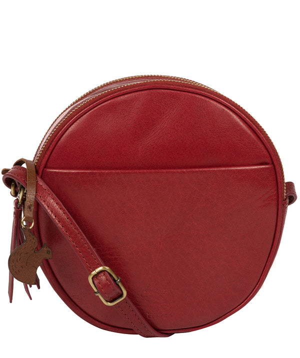 'Rolla' Chilli Pepper Leather Cross Body Bag image 1