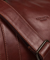 'Rivellino' Conker Brown Leather Holdall