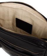 'Jairizinho' Black Leather Cross Body Bag image 4