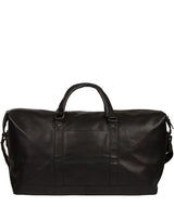 'Gerson' Black Leather Holdall image 3