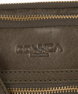 'Drew' Olive Leather Cross Body Bag image 6