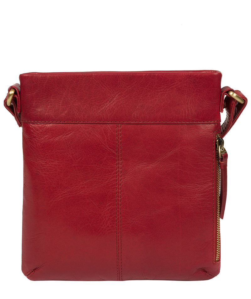 'Yayoi' Chilli Pepper Leather Cross Body Bag image 3