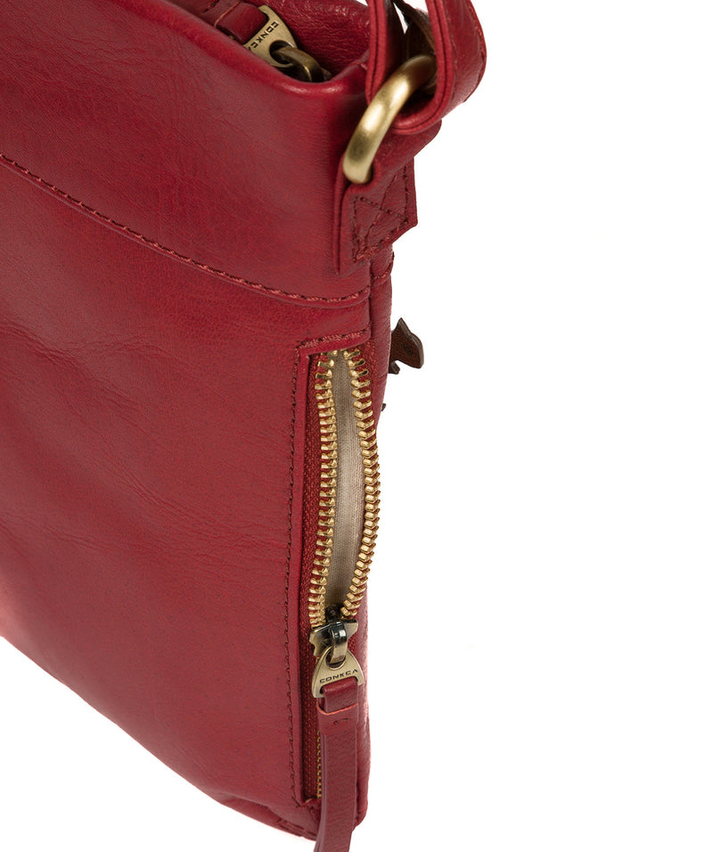 'Yayoi' Chilli Pepper Leather Cross Body Bag image 6