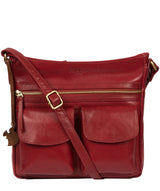 'Bon' Chilli Pepper Leather Cross Body Bag image 1