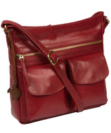 'Bon' Chilli Pepper Leather Cross Body Bag image 5