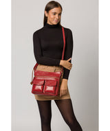 'Bon' Chilli Pepper Leather Cross Body Bag image 2
