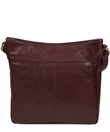 'Bon' Plum Leather Cross Body Bag image 3