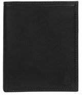 'Rorik' Black Leather Bi-Fold Wallet image 1