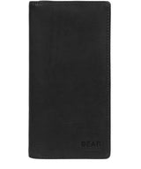 'Volund' Black Leather Breast Pocket Wallet image 1