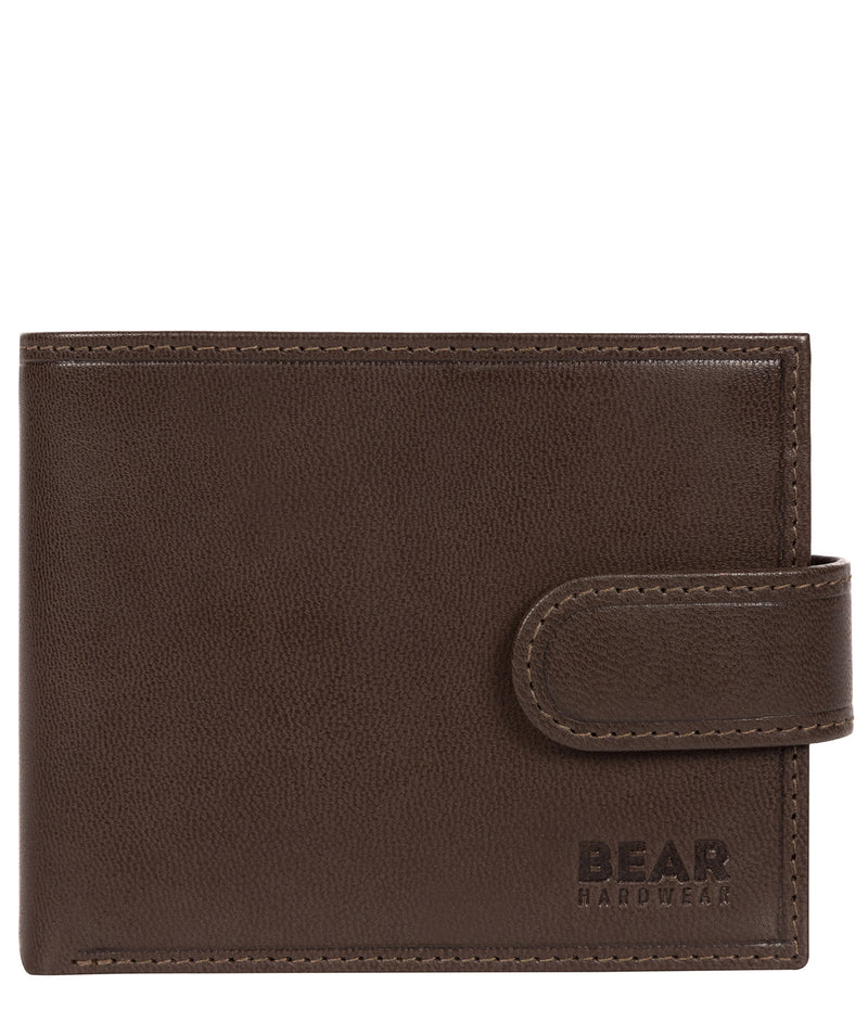 'Odinn' Dark Brown Bi-Fold Wallet image 1