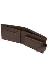 'Odinn' Dark Brown Bi-Fold Wallet image 3