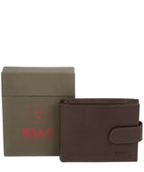 'Odinn' Dark Brown Bi-Fold Wallet image 4