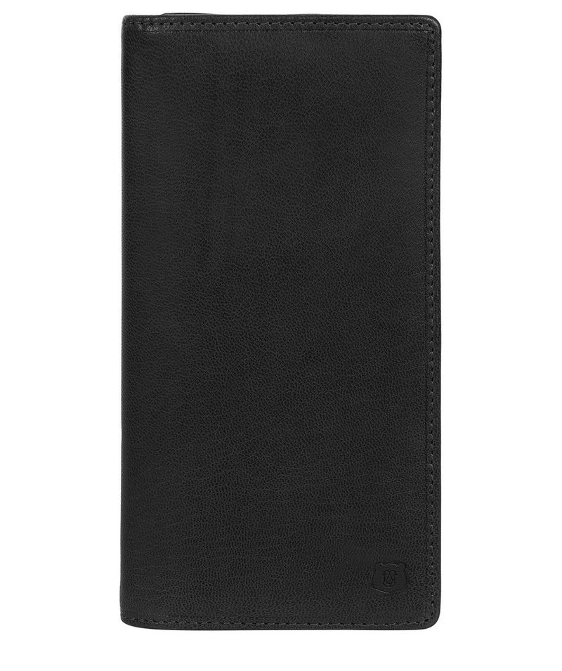 'Wyre' Black Leather Breast Pocket Wallet image 1