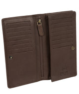 'Wyre' Dark Brown Leather Breast Pocket Wallet image 3