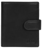 'Nilsson' Black Leather Bi-Fold Wallet image 1