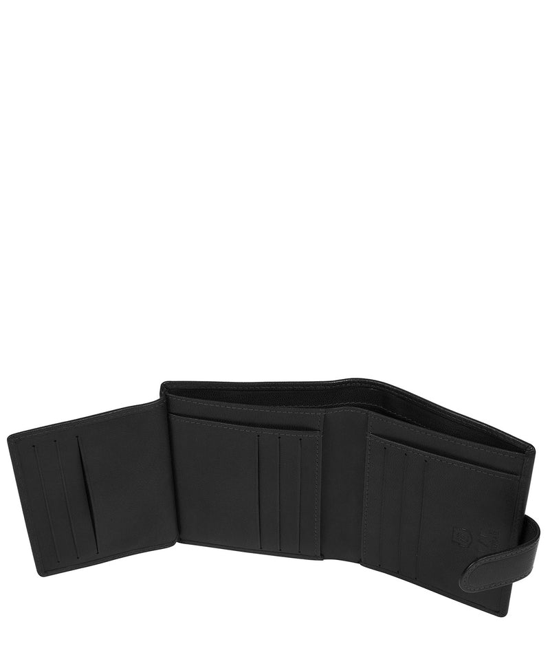 'Nilsson' Black Leather Bi-Fold Wallet image 4