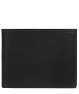 'Thor' Black Leather Bi-Fold Wallet image 1