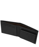 'Thor' Black Leather Bi-Fold Wallet image 3