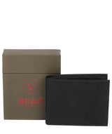 'Thor' Black Leather Bi-Fold Wallet image 4