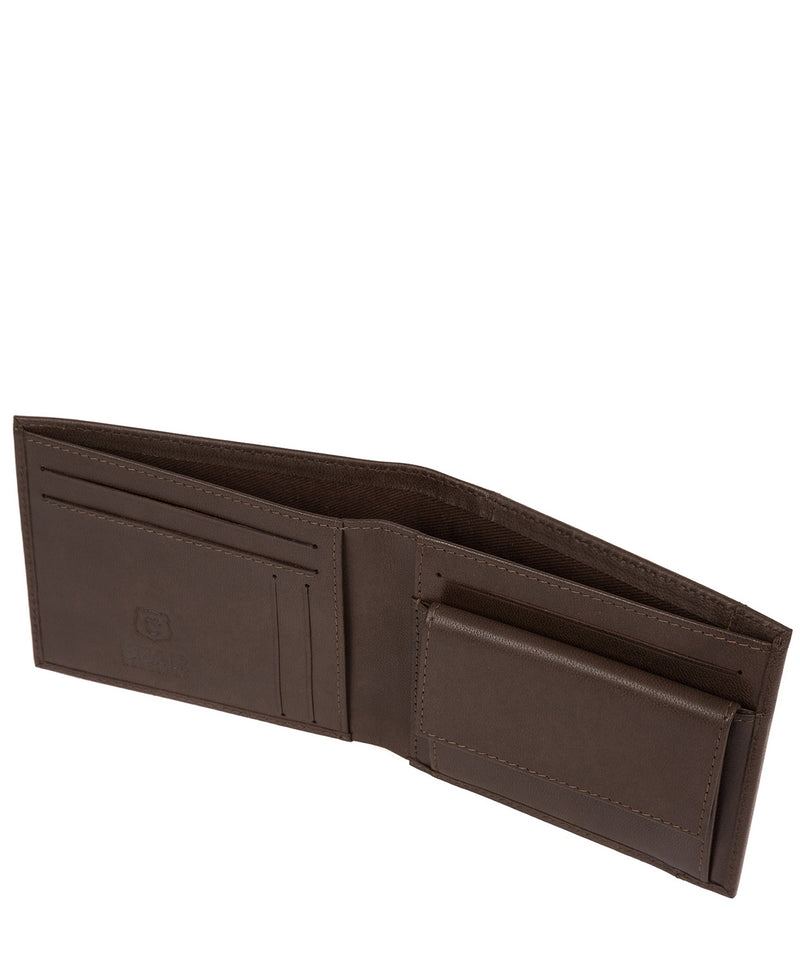 'Thor' Dark Brown Leather Bi-Fold Wallet image 3