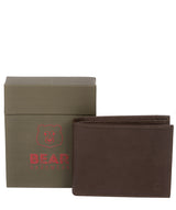 'Thor' Dark Brown Leather Bi-Fold Wallet image 4