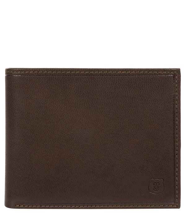 'Njord' Dark Brown Leather Bi-Fold Wallet image 1