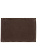'Heidrun' Dark Brown Leather Bi-Fold Card Holder image 1