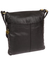 'Elva' Black Leather Cross Body Bag image 3