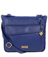'Aria' Mazarine Blue Leather Cross Body Bag image 1