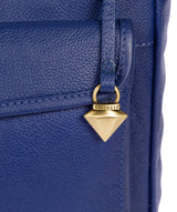 'Aria' Mazarine Blue Leather Cross Body Bag image 5