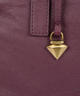 'Liana' Fig Leather Handbag image 6