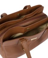 'Liana' Tan Leather Handbag image 5
