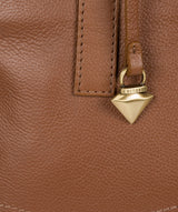 'Liana' Tan Leather Handbag image 6