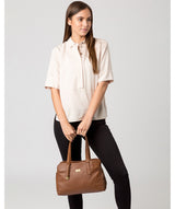 'Liana' Tan Leather Handbag image 2