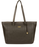 'Farah' Olive Leather Tote Bag image 1