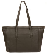 'Farah' Olive Leather Tote Bag image 3