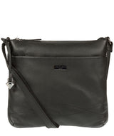 'Gigi' Black Real Leather Cross-Body Bag image 1
