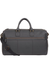 'Expedition' Dark Grey Leather Holdall image 1