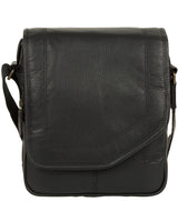 'Trip' Black Small Leather Despatch Bag image 1