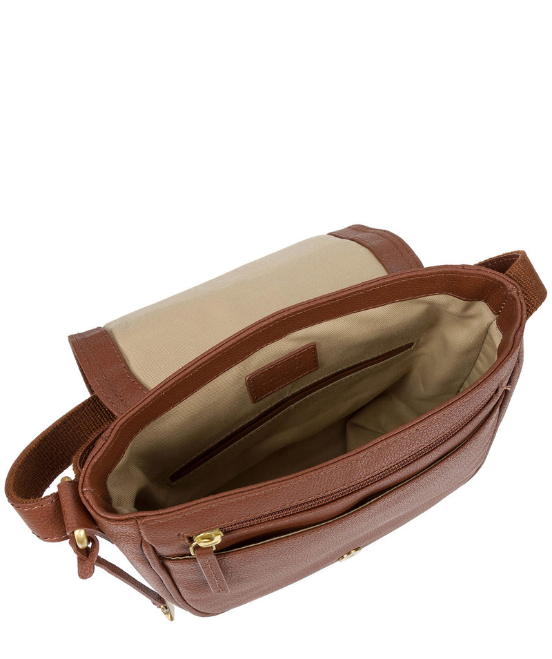 'Pollencia' Sienna Brown Leather Bag image 4