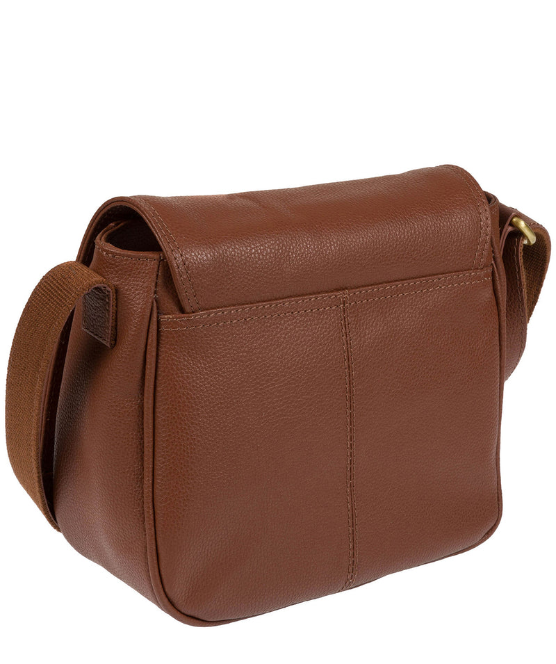 'Pollencia' Sienna Brown Leather Bag image 5